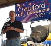 Rick Crawford announces his candidacy